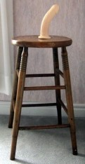 Image result for dildo stool